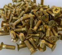 "10 x 1/4"" UNF Machine Screw Steel Countersunk Length 3/4"" Part MS24694-S99 [O9]"